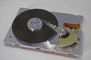 data security with online hard drives