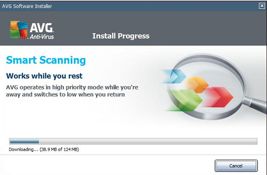 AVG Antivirus 2011 installation