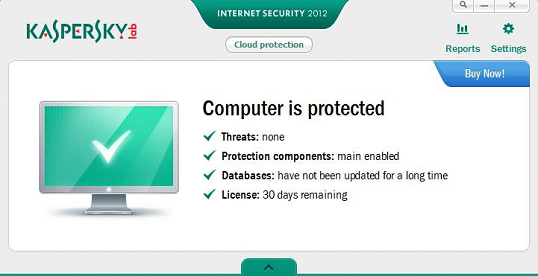 Kaspersky Internet Security 2012 effectiveness