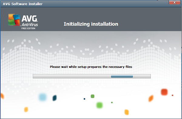 AVG Anti-Virus Free 2012 installation