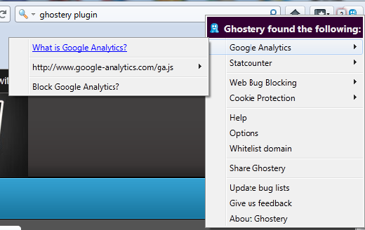 Ghostery discovery
