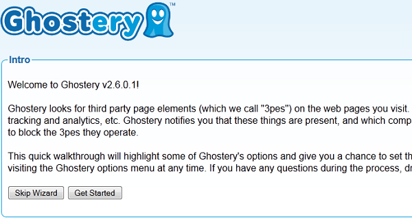 Ghostery install