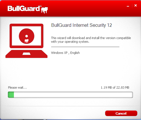 Bullguard Internet Security 12 installation