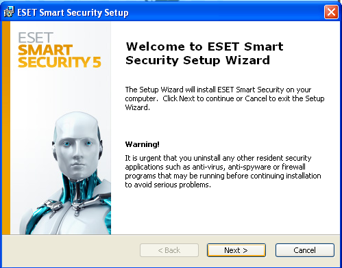 ESET Smart Security 5 installation