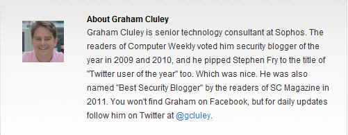 Graham Cluley