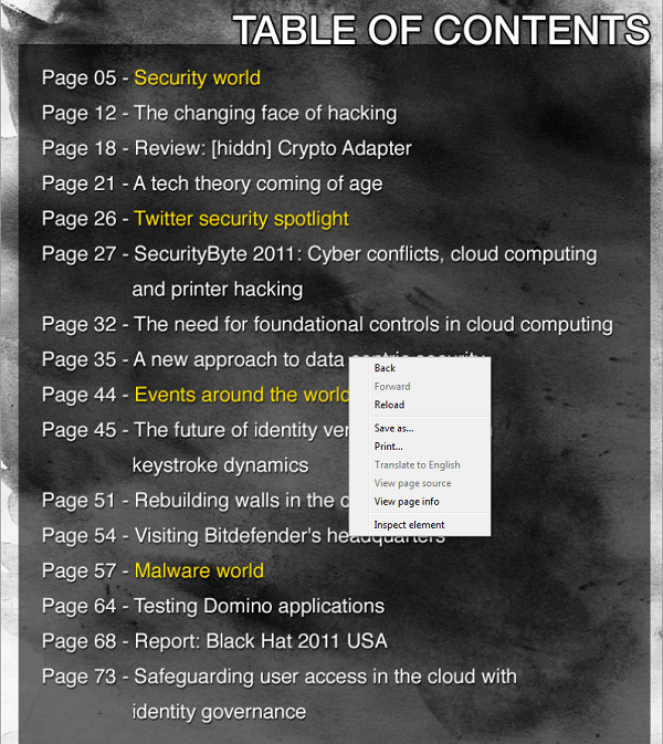 Help Net Security insecure magazine