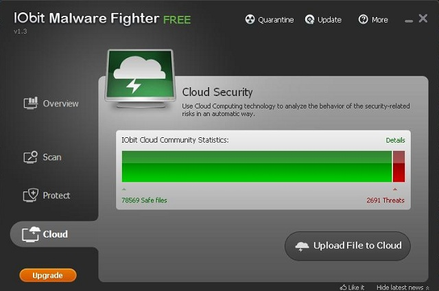 IObit Malware Fighter cloud