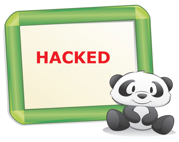 Panda web sites hacked