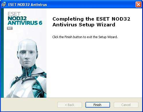 eset nod antivirus 6 username and password